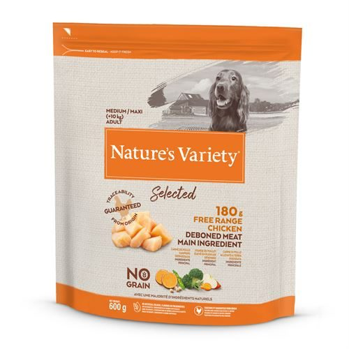 Natures Variety Dog Medium Adult Dry Selected Chicken