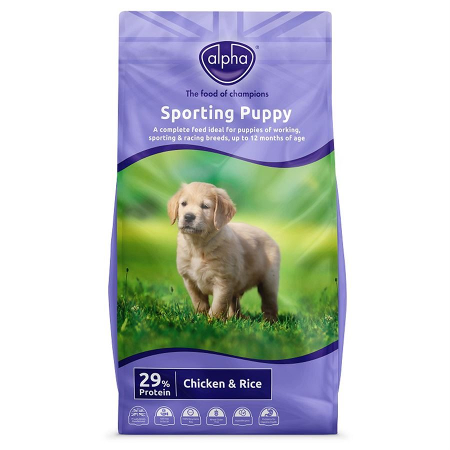 Alpha Sporting Puppy 'Wheat Gluten free'