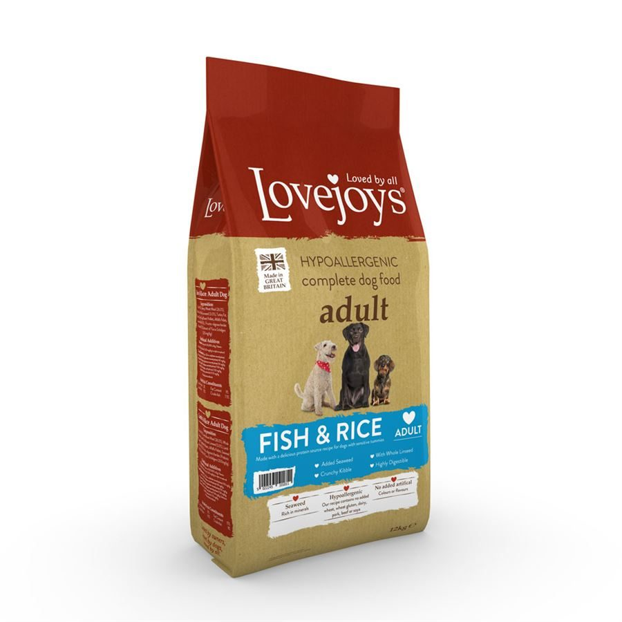 Lovejoys Adult Dry with Fish & Rice