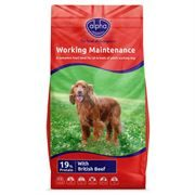 Alpha Adult Worker Maintenance with Beef & Rice