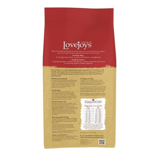 Lovejoys Adult Dry with Turkey & Rice