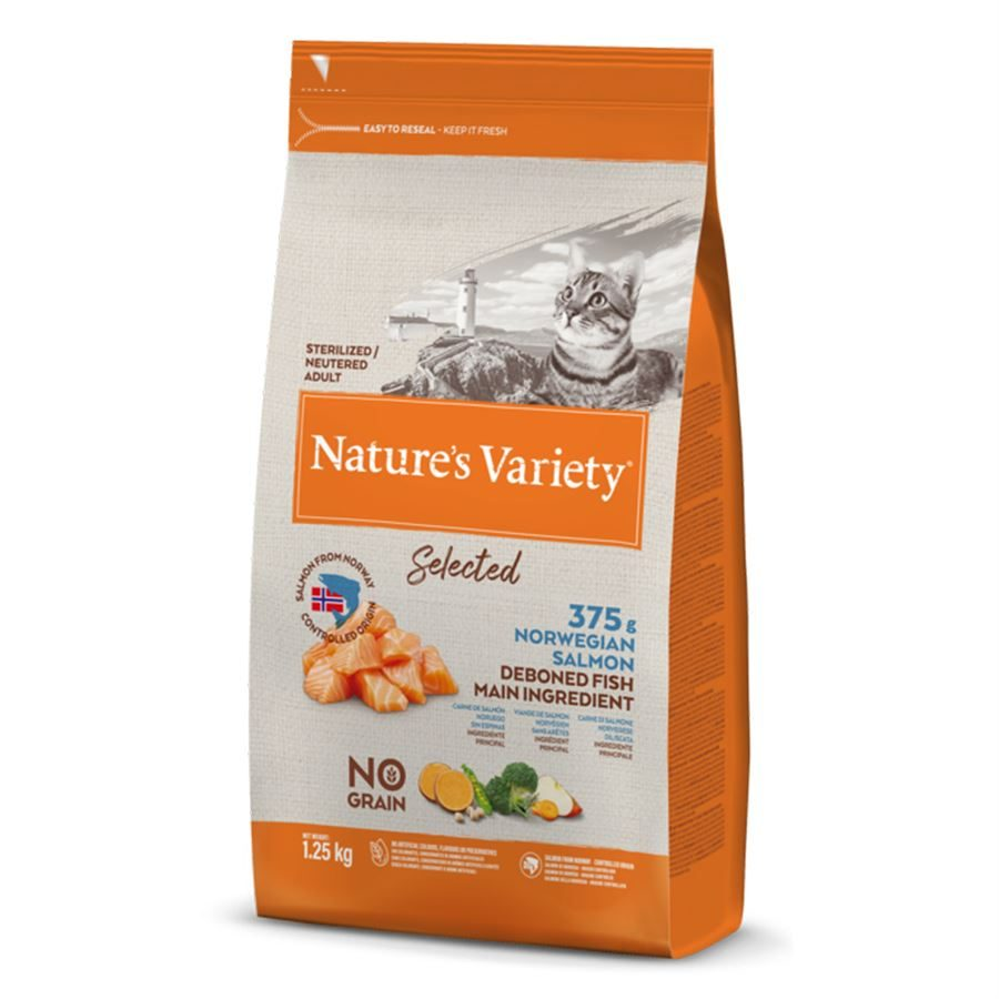 Natures Variety Cat Adult Dry Selected Salmon