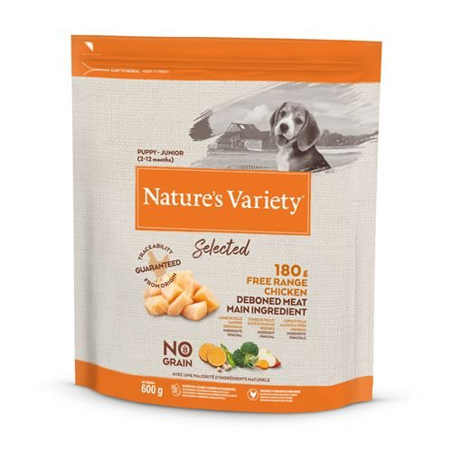 Natures Variety Dog Junior Dry Selected Chicken