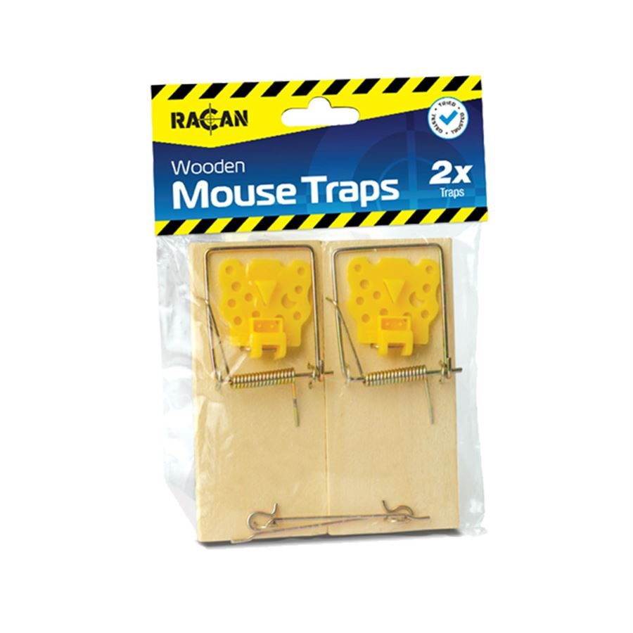 Racan Wooden Mouse Trap