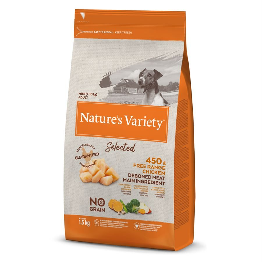 Natures Variety Dog Mini Adut Dry Selected Chicken