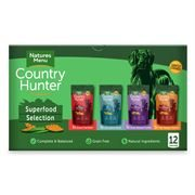 Natures Menu Dog Country Hunter 80% Multipack Pouches