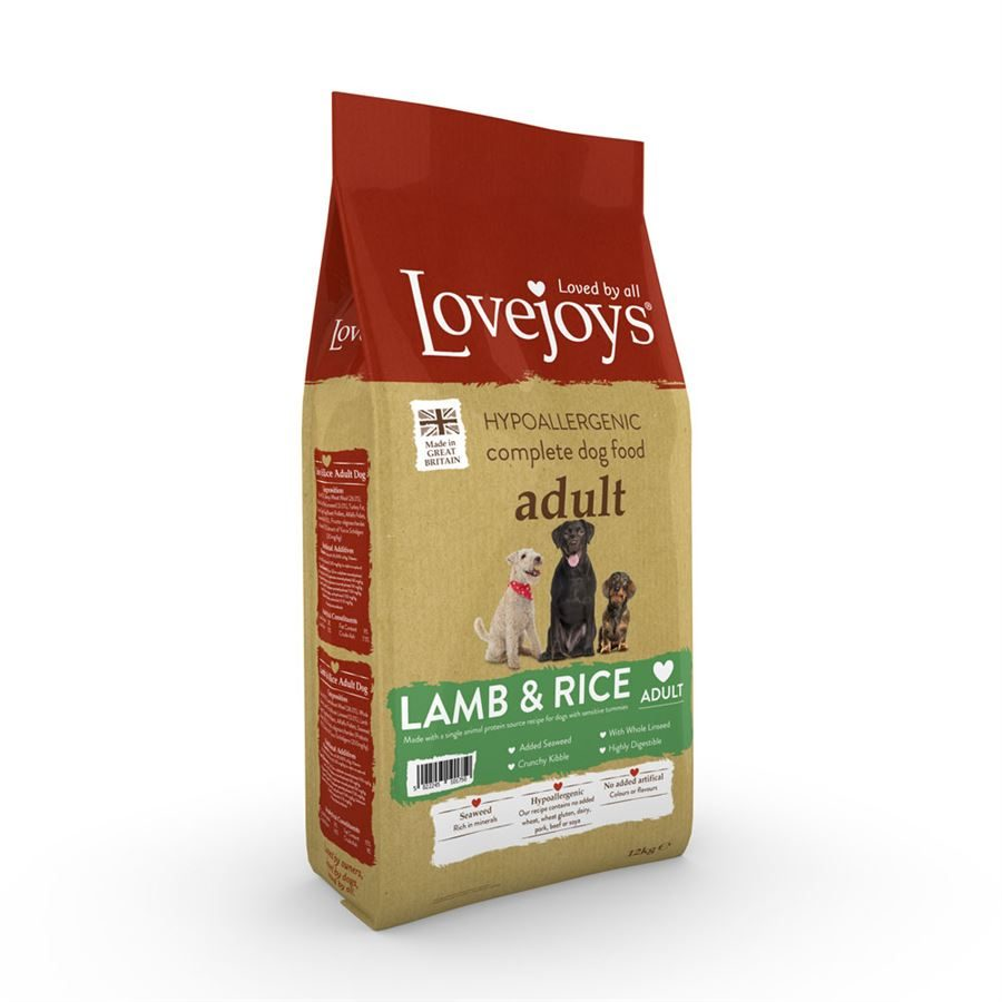 Lovejoys Adult Dry with Lamb & Rice