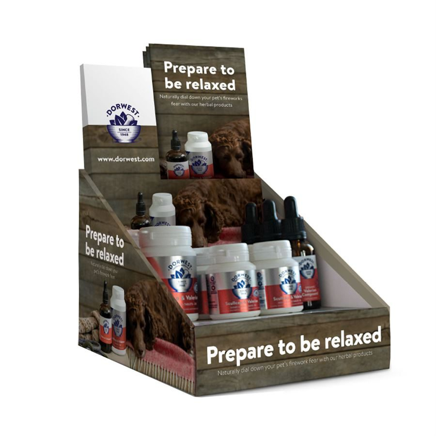 Dorwest Licensed To Chill Counter Display Unit Including Stock